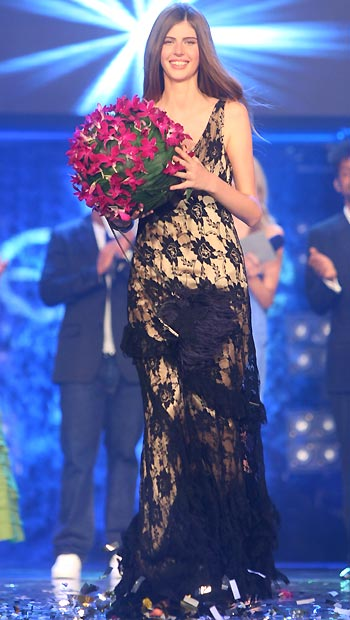 Jen Mennessier, 1er prix de l'Elite Model Look 2008