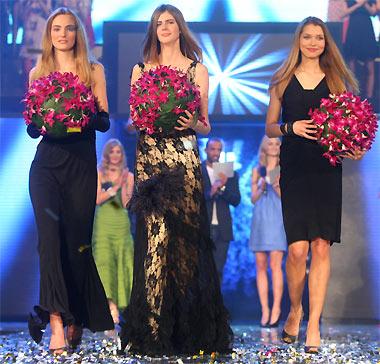 les trois finalistes de l'Elite Model Look 2008
