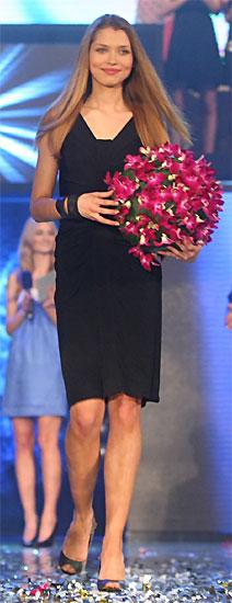 Hana Jirickova, finaliste de l'Elite Model Look