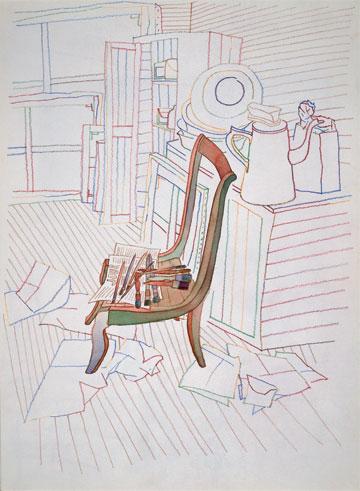 Dans l'atelier de Balthus, Jean-Michel Folon