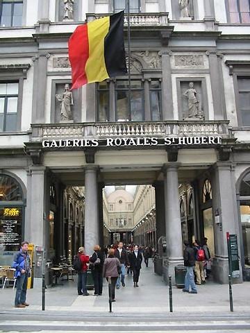 Galeries Saint-Hubert à Bruxelles (D.R.)