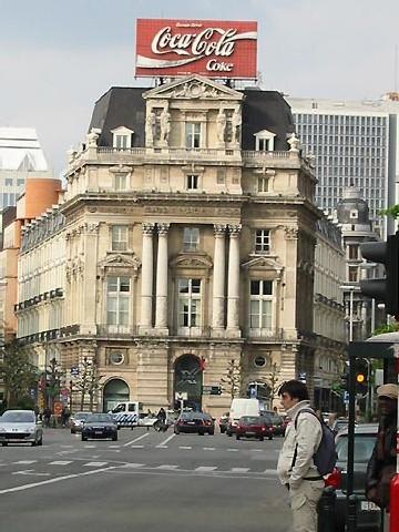 la place de Brouckère à Bruxelles (D.R.)