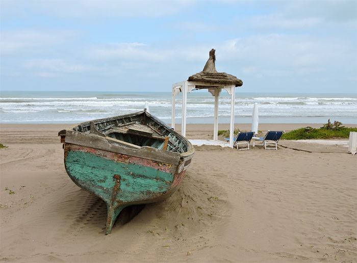 La plage du Mazagan (D.R.)