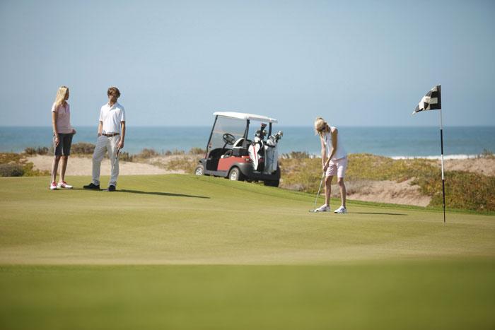 Le golf du Mazagan.