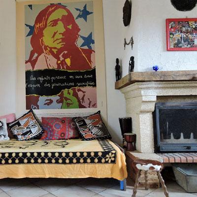 Idées décoration bohème - La maison de Flavie (D.R.)