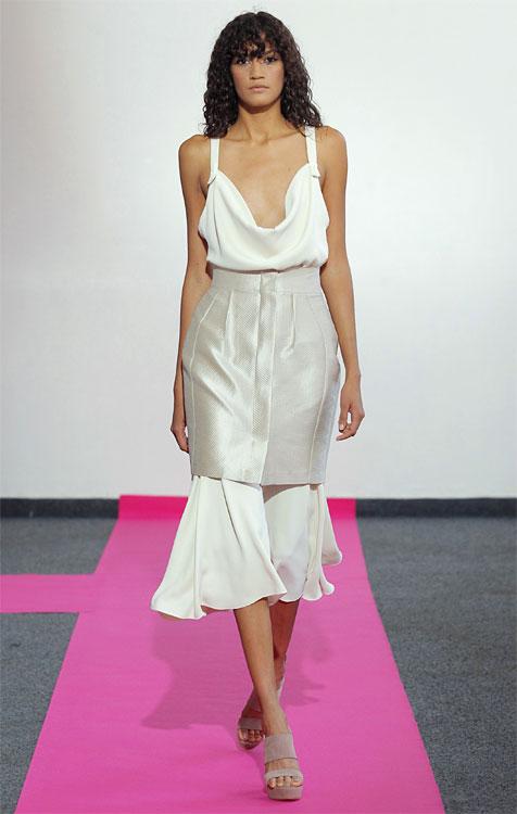Idée mode : la jupe superposée Diego Miranda.