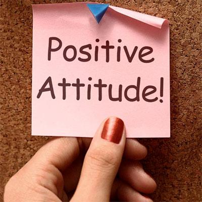 Positive attitude : citations optimistes.