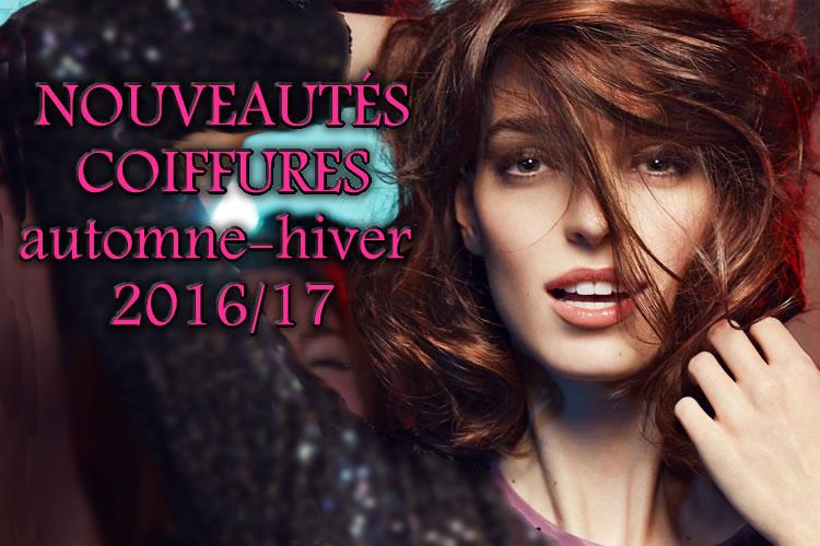 Nouvelles coupes et coiffures tendances Automne 2016-Hiver 2017 - Création Jean-Louis DAVID