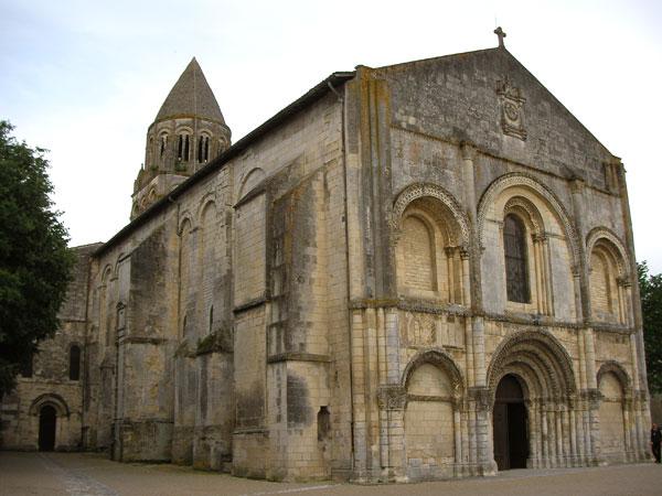 L'Abbaye aux Dames à Saintes (D.R.)