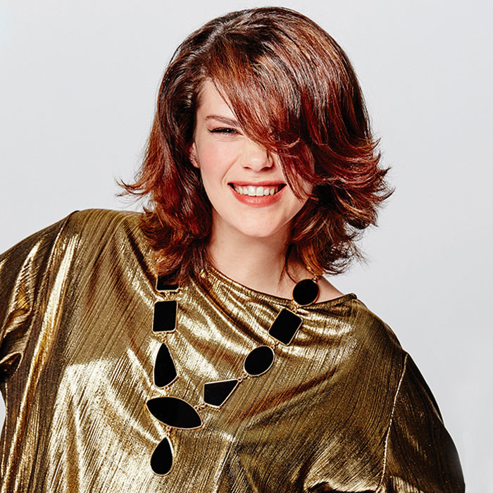 Coiffure cheveux mi-longs - SHAMPOO Expert - tendances automne-hiver 2016-2017.