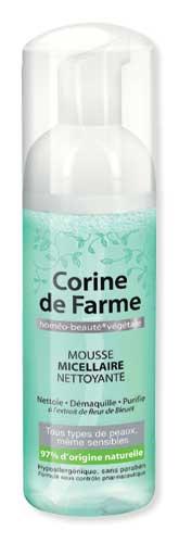 Mousse Micellaire Nettoyante Corine de FARME - Victoires de la Beauté 2016-2017.