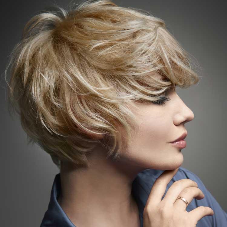 Coiffure cheveux courts - VOG - Tndances automne-hiver 2016-2017.