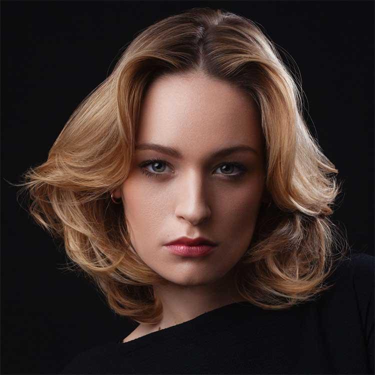 Coupe et coiffure cheveux mi-longs - Christine MARGOSSIAN - tendances automne-hiver 2016-2017