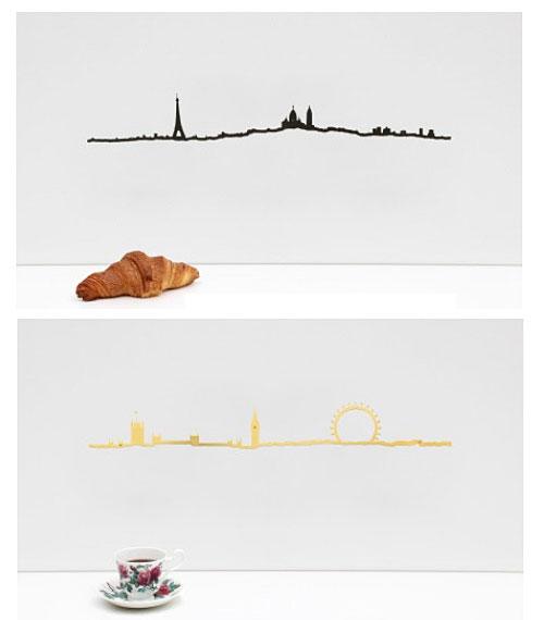 Skyline paris et Londres, THE LINE.