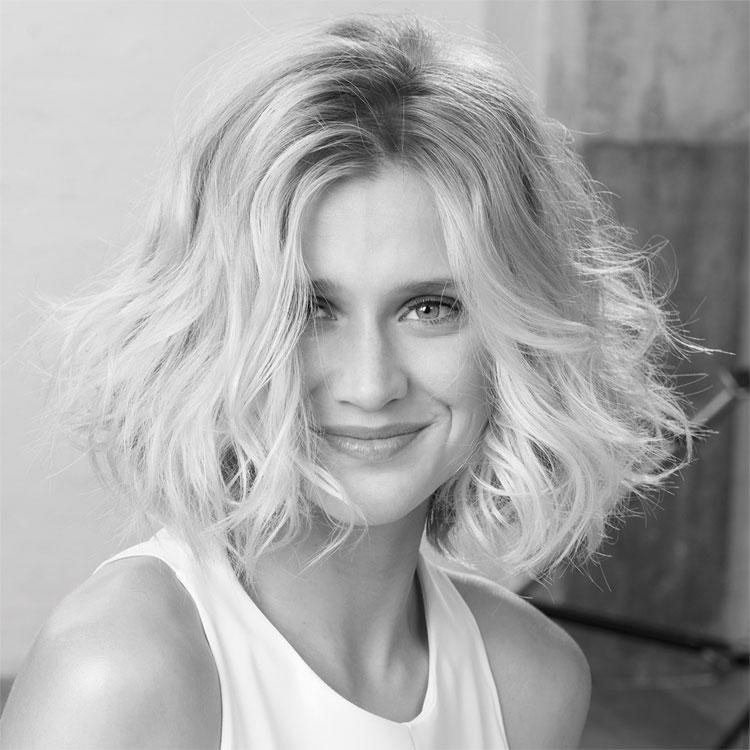 Coupe et coiffure mi-longue SAINT ALGUE - Tendances printemps-été 2017.