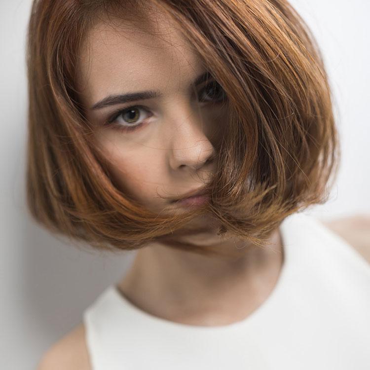 Coupe coiffure mi-longue DAVID & Son - Mid-length haircut - Tendances spring-summer 2017.
