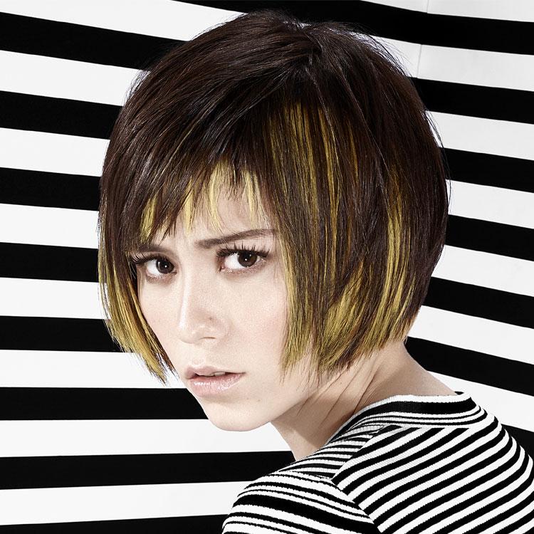 Coupe coiffure mi-longue FRAMESI - Mid-length haircut - Tendances spring-summer 2017.
