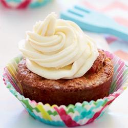 Cupcakes aux endives et aux poires.