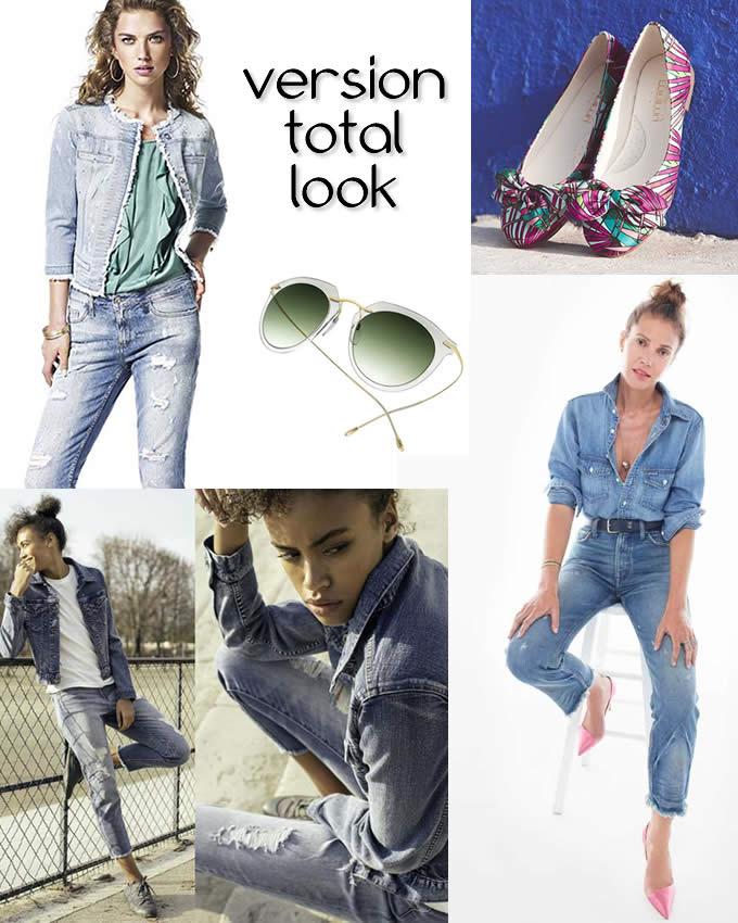 Dress code n°2 - le jeans tendance grunge total look