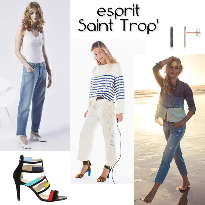Dress code n°4 - les jeans grunge esprit Saint Trop'