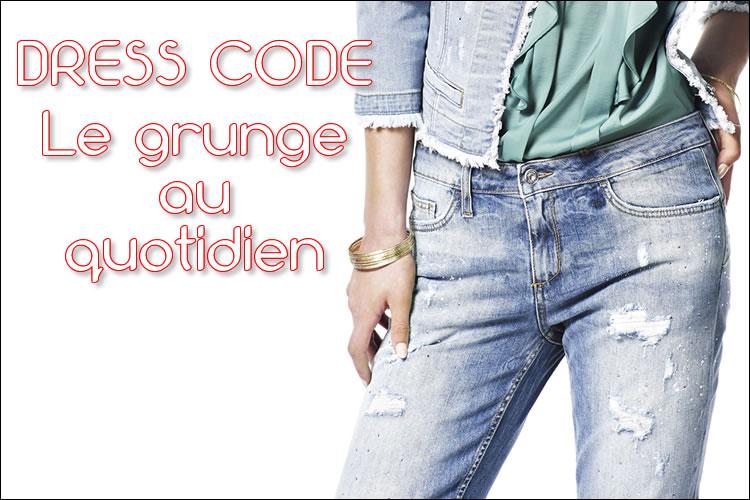 Dress code : comment porter les jeans destroy tendance grunge au quotidien ?