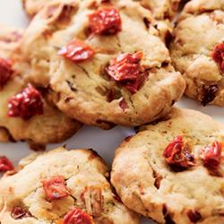 Cookies d'Endives, tomates séchées
