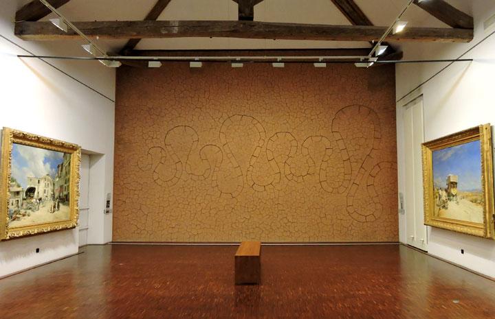 Salle du Musée Gassendi 'Le paysage entre tradition provençale et approche contemporaine' © ABCfeminin.com.