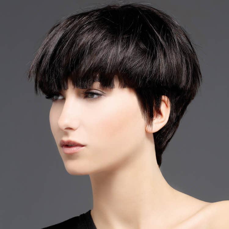 coupe cheveux courte femme automne hiver 2018 coiffures de mode moderne. Black Bedroom Furniture Sets. Home Design Ideas