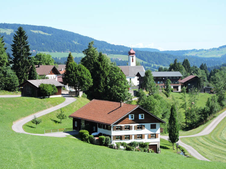 Paysage du Vorarlberg © ABCfeminin.com.