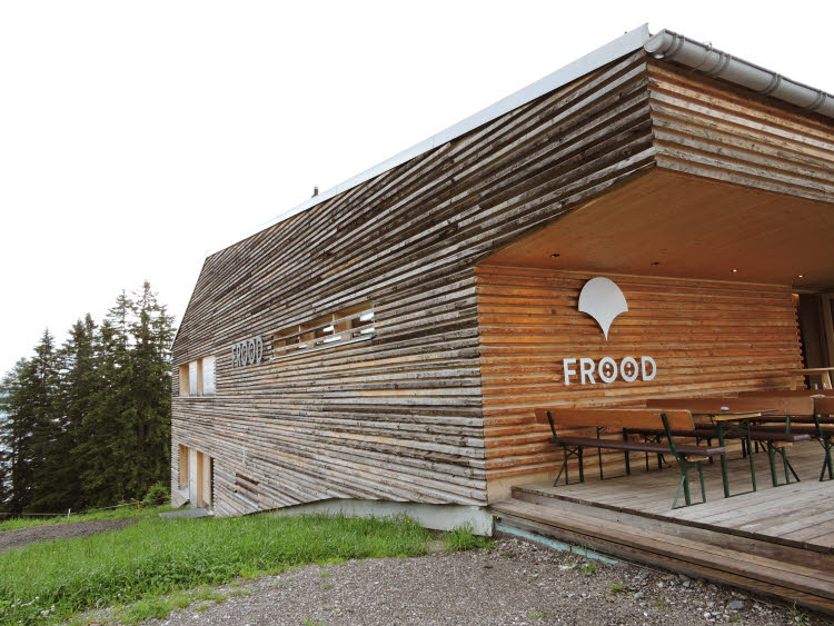 Le resto d'altitude Frööd dans la Vallée du Brandnertal © ABCfeminin.com.