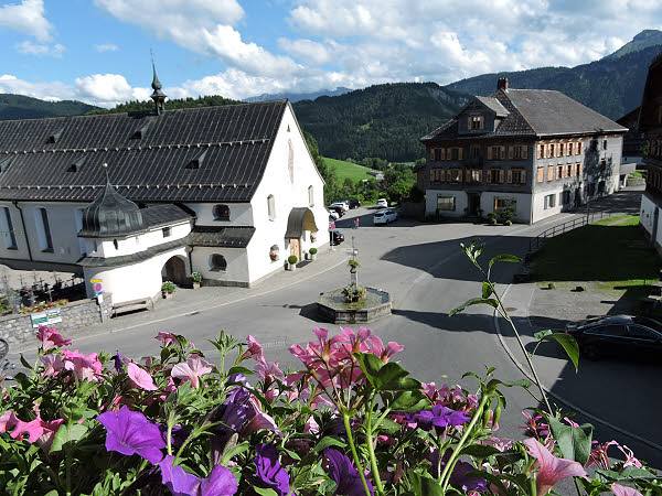 Le village de Bregenzerwald © ABCfeminin.com.