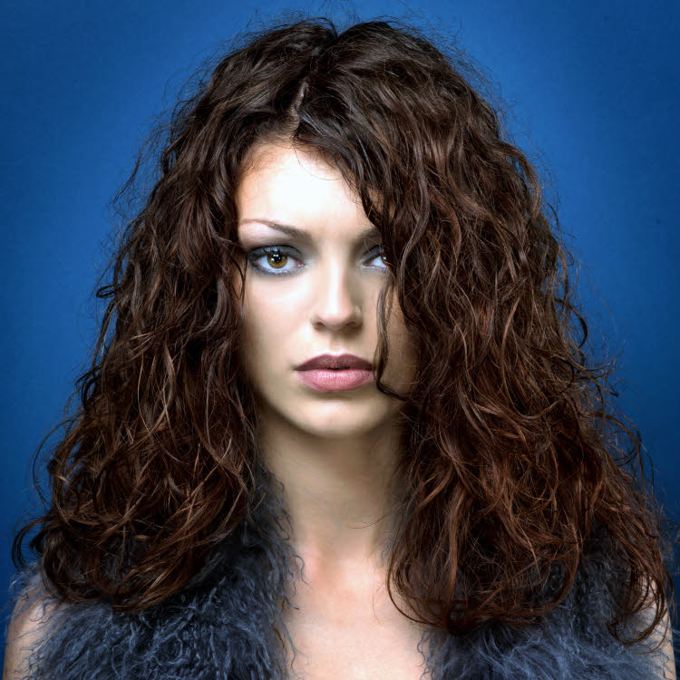Coiffure cheveux longs Eric LETURGIE - Automne-hiver 2017-2018.