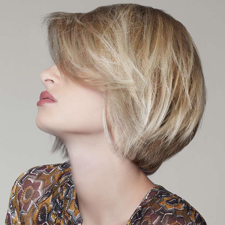 Coiffure cheveux mi-longs TCHIP - Automne-hiver 2017-2018.