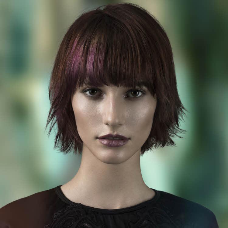 Suite 2 des tendances coiffures cheveux mi longs automne hiver 2017 2018 page 5 - Coiffure mi long 2017 ...