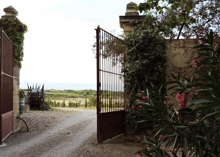 Le Minervois, depuis le Domaine d'Hôtes Château Le Vergel-Authenac à Ginestas.