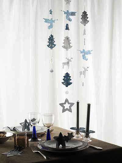 Suspensions pour décor de Noël - Création Fiskars.