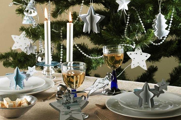 Décor de Noël bleuté à réaliser - Création Fiskars