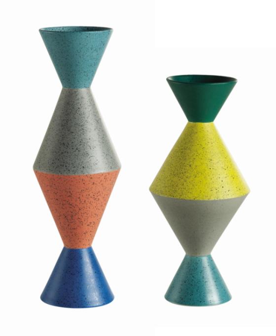"""Cadeau thème DESIGN - Vases collection """"Totem"""" Roche-Bobois."""