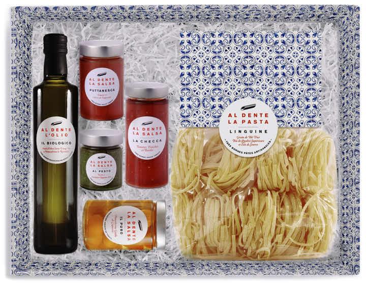 Cadeau thème 'MONDE' - Coffret Al Dente La Salsa.