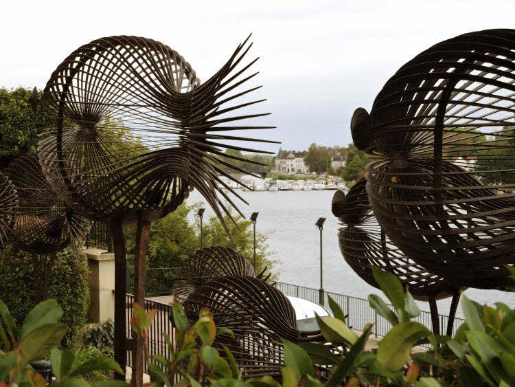 Sculptures Sylvain Subervie à La Côte Saint-Jacques © ABCfeminin.com.