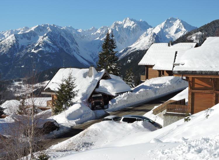 Saint François Longchamp, la petite station de ski qui a tout d'une grande © ABCfeminin.com.