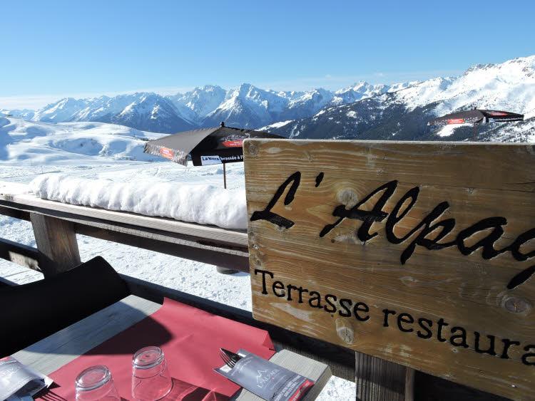 Restaurant d'altitude L'Alpage à Saint François Longchamp.