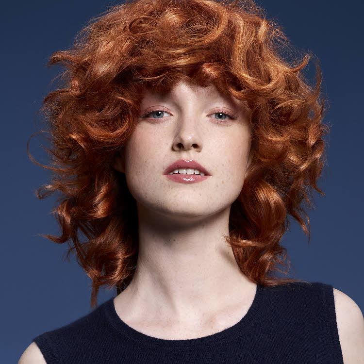 Coiffure cheveux mi-longs Camille ALBANE - Printemps-été 2018.