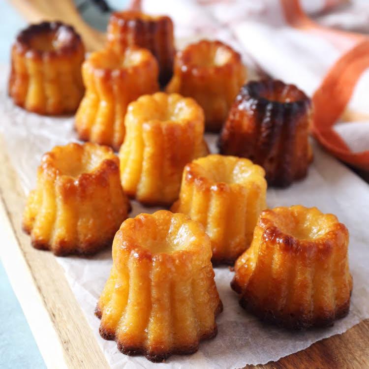 Gourmandise facile à préparer : les cannelés bordelais.