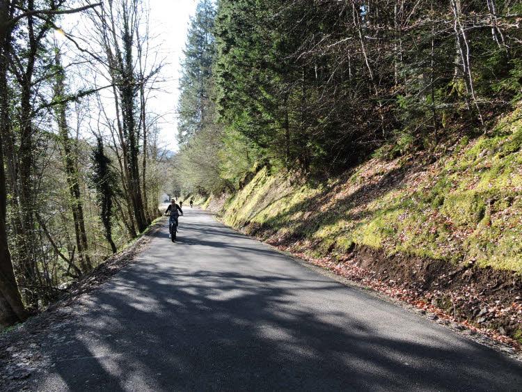 Balade en vélo électrique dans la vallée de la Bruche © Droits réservés.