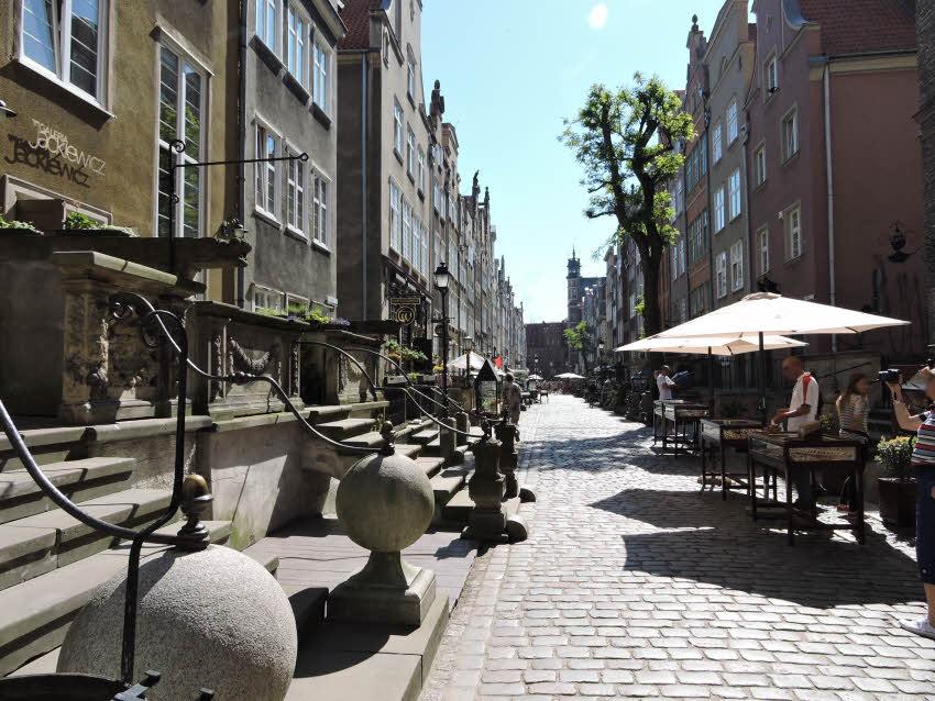 La rue Mariacka à Gdansk © ABCfeminin.com.