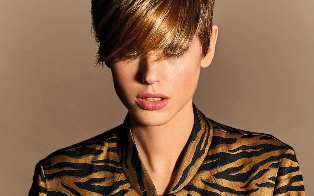 Coiffure tendance sur cheveux courts