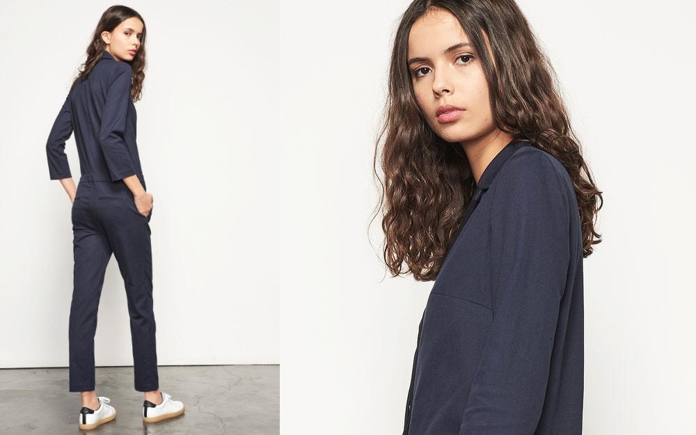La combinaison pantalon - Comment la porter ? Création BA&SH.