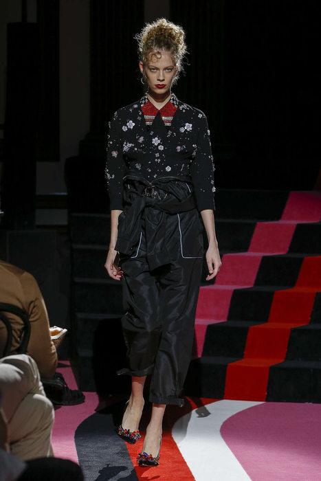 Combinaison pantalon MIU MIU - La combi glam de jour et de nuit.