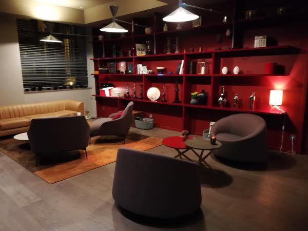 Espace Club de l'Hôtel OKKO à Lyon.